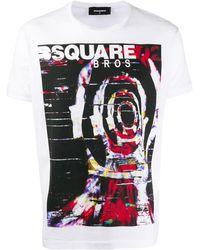 DSquared² ロゴ Tシャツ - マルチカラー