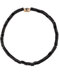 Luis Morais Pendant Bracelet - Black