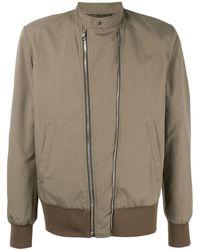 8c2cc6439 Neil Barrett Knitted Bomber Jacket in Black for Men - Lyst