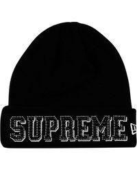 Supreme New Era Gems ビーニー - ブラック