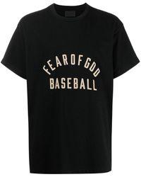 Fear Of God ロゴ Tシャツ - ブラック