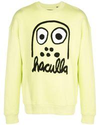 Haculla Monster Drop Shoulder Sweatshirt - Green