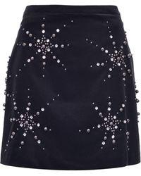 Pinko スター スカート - ブラック