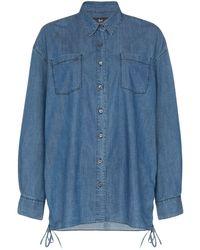 3x1 Corin Denim Shirt - Blue