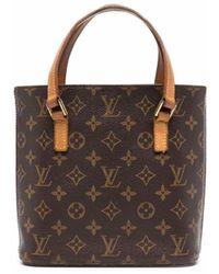 Louis Vuitton Сумка-тоут 2002-го Года С Монограммой - Коричневый