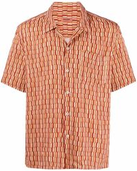 Missoni チェック ショートスリーブシャツ - オレンジ