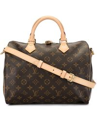 Louis Vuitton - Сумка Speedy 30 Bandouliere Pre-owned - Lyst