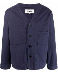 YMC - パッチポケット カーディガン - Lyst