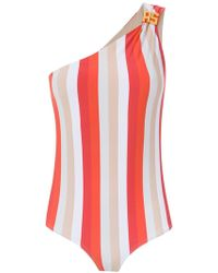 Amir Slama - One Shoulder Swimsuit - Lyst