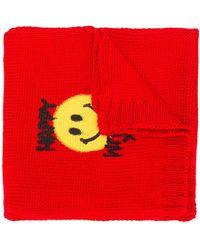 Philosophy Di Lorenzo Serafini Smiley Face Scarf - Red