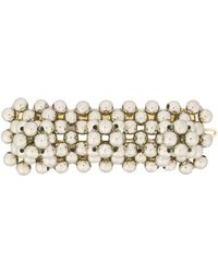 Shrimps Antonia Barette Hair Slide - Metallic