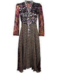 Duro Olowu - Multi Print Shirt Dress - Lyst