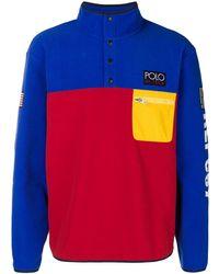 Polo Ralph Lauren Felpa con logo high tech - Rosso