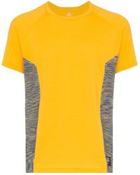 adidas X Missoni T-Shirt mit Einsätzen - Gelb