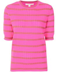 Marc Jacobs - Striped Cashmere Sweater - Lyst