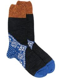 Kapital Bandana Sokken - Blauw