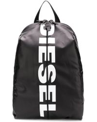 DIESEL - Backpack With Bold Logo - Lyst
