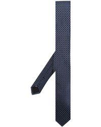 Dolce & Gabbana Stropdas Met Patroon - Blauw