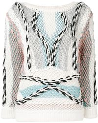 Peter Pilotto - Chunky Knitted Cord Jumper - Lyst