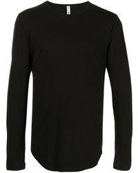 Attachment T-shirt a maniche lunghe - Nero