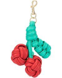 Anya Hindmarch Брелок Для Ключей В Форме Вишни - Многоцветный