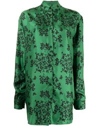 Macgraw Citric パジャマスタイル シャツ - グリーン