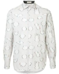 Education From Young Machines - Circle Seams Shirt - Lyst