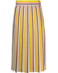Emilio Pucci ストライプ スカート - ピンク
