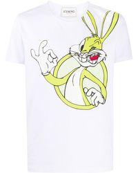 Iceberg Looney Tunes Tシャツ - ホワイト