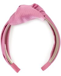 Jennifer Behr Twist Headband - Pink