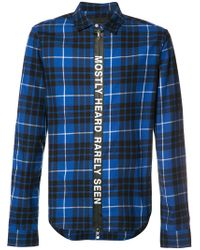 Mostly Heard Rarely Seen - Checked Shirt - Lyst