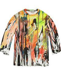 Christopher Kane Mindscape Tシャツ - ホワイト