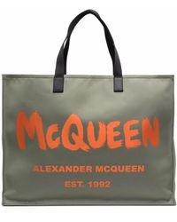 Alexander McQueen - ロゴ トートバッグ - Lyst