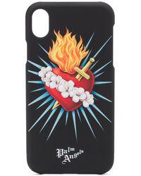 Palm Angels 'Sacred Heart' iPhone X-Hülle - Schwarz