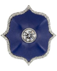 Bayco ダイヤモンド リング プラチナ - ブルー