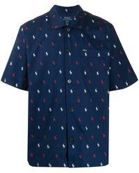 Polo Ralph Lauren Pijama con logo estampado - Azul