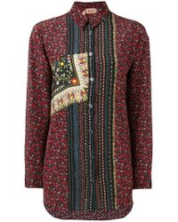 N°21 - Floral Button Up Shirt - Lyst