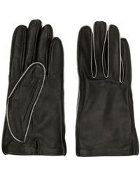 Alexander Wang Zipper Teeth Gloves - Black