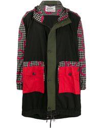 Vivienne Westwood チェックコート - ブラック