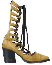 Toga Gladiator boots - Multicolore