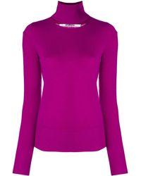 Chalayan - Split Neck Sweater - Lyst