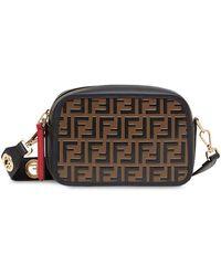 Fendi Camera Case Crossbody Bag - Zwart