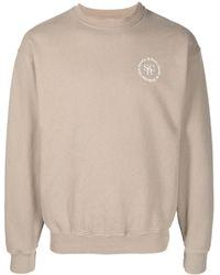 Sporty & Rich Sweatshirt mit Logo - Mehrfarbig