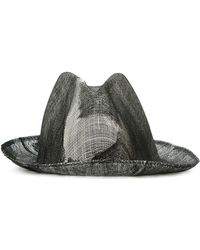 Reinhard Plank - Double Overlay Distressed Hat - Lyst