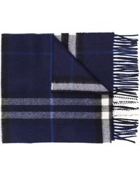 Burberry - The Classic Check Cashmere Scarf - Lyst
