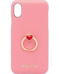 Miu Miu - Iphone X/xs ケース - Lyst
