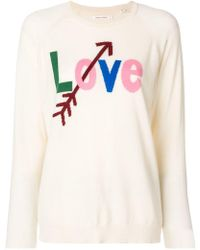 Chinti & Parker - Love Printed Sweater - Lyst