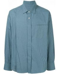 Wooyoungmi - Oversized Check Shirt - Lyst