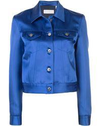 Helmut Lang Fitted Jacket - Blue
