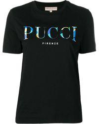 Emilio Pucci Футболка С Логотипом - Черный